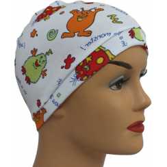 Petite Little Monsters 100% Cotton Jersey Head Cap