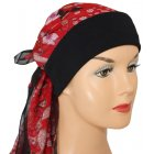 Petite Mia Band Scarf Paisley Red