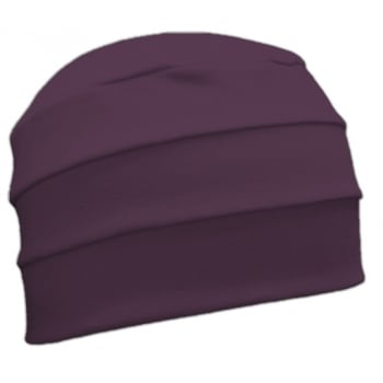 Petite Plum 3 Seam Hat/Turban in 100% Cotton Jersey