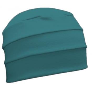 Petite Teal 3 Seam Hat/Turban in 100% Cotton Jersey