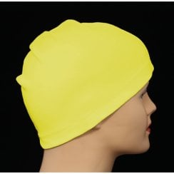 Petite Yellow 100% Cotton Jersey Head Cap