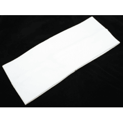 Plain White 100% Cotton Jersey Jersey Extra Wide 10cm Headband