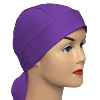 Purple Bandana 100% Cotton Jersey