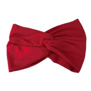 Red Cotton Jersey Twist Wrap