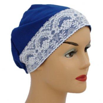 Royal Lace Sleep Cap Lightweight 100% Cotton Jersey