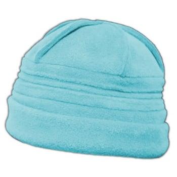 Sally Fleece Hat In Aqua Blue
