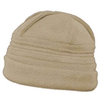 Sally Fleece Hat In Camel