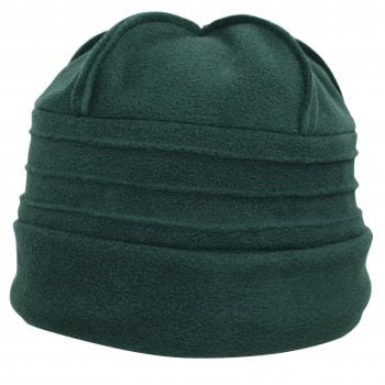 Sally Fleece Hat In Green
