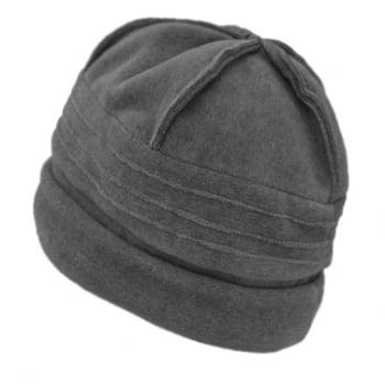 Sally Fleece Hat In Grey