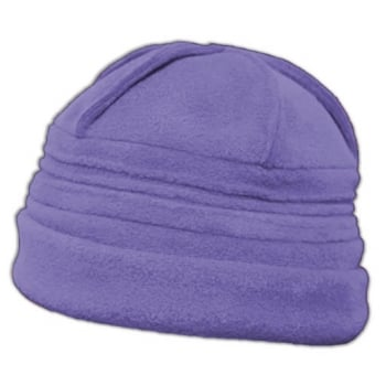 Sally Fleece Hat In Lilac