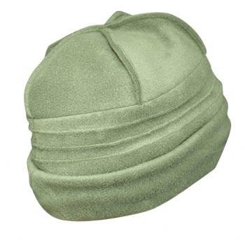 Sally Fleece Hat In Olive