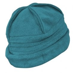 Sally Fleece Hat In Teal
