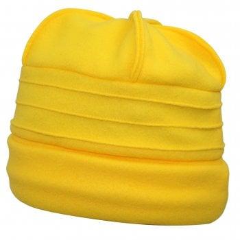 Sally Fleece Hat In Yellow