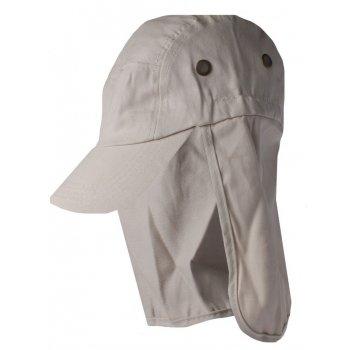 Tan Cotton Legionnaires Style Summer Visor Hat