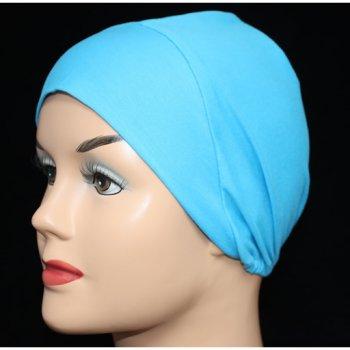 Turquoise Light Jersey Cap
