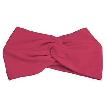 Vino Red Cotton Jersey Twist Wrap