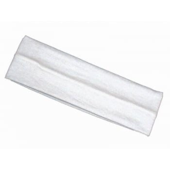 White 7Cm Wide Headband