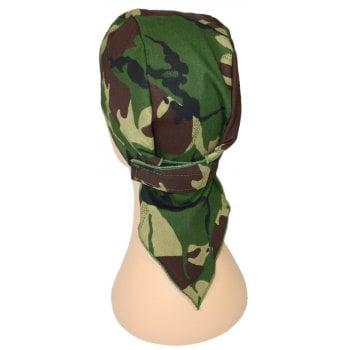 Woodland Camouflage Deluxe No Tie Bandana
